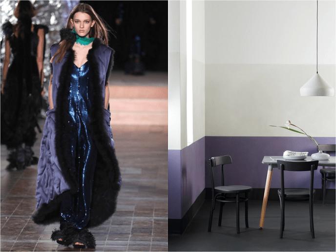 8 Autumn/Winter Paint Colours from Paris Fashion Week