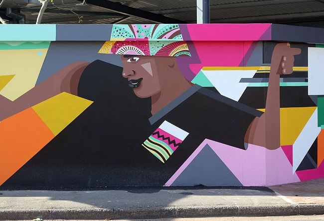 Colourful Taxi Dance Mural Uplifts Lives in Durban