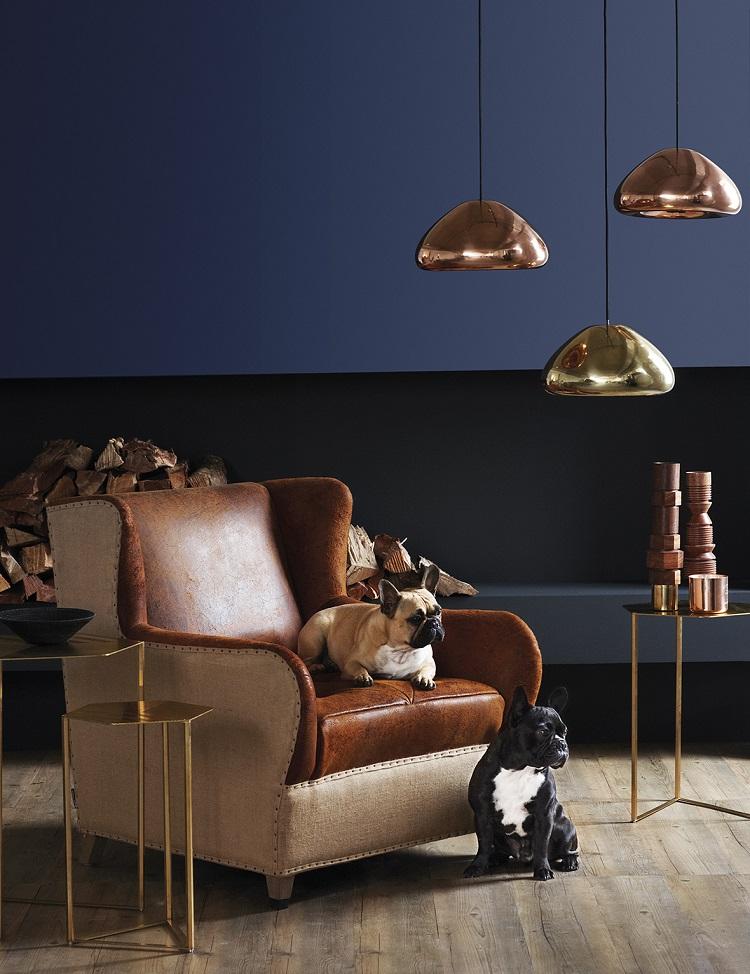 Blue Living Room - Paint Tips