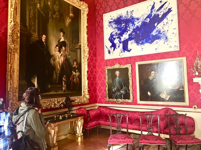 Yves Klein at Blenheim and the Hyper Blue Trend in Interiors