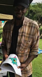 Artist Lumkile Mzayiya