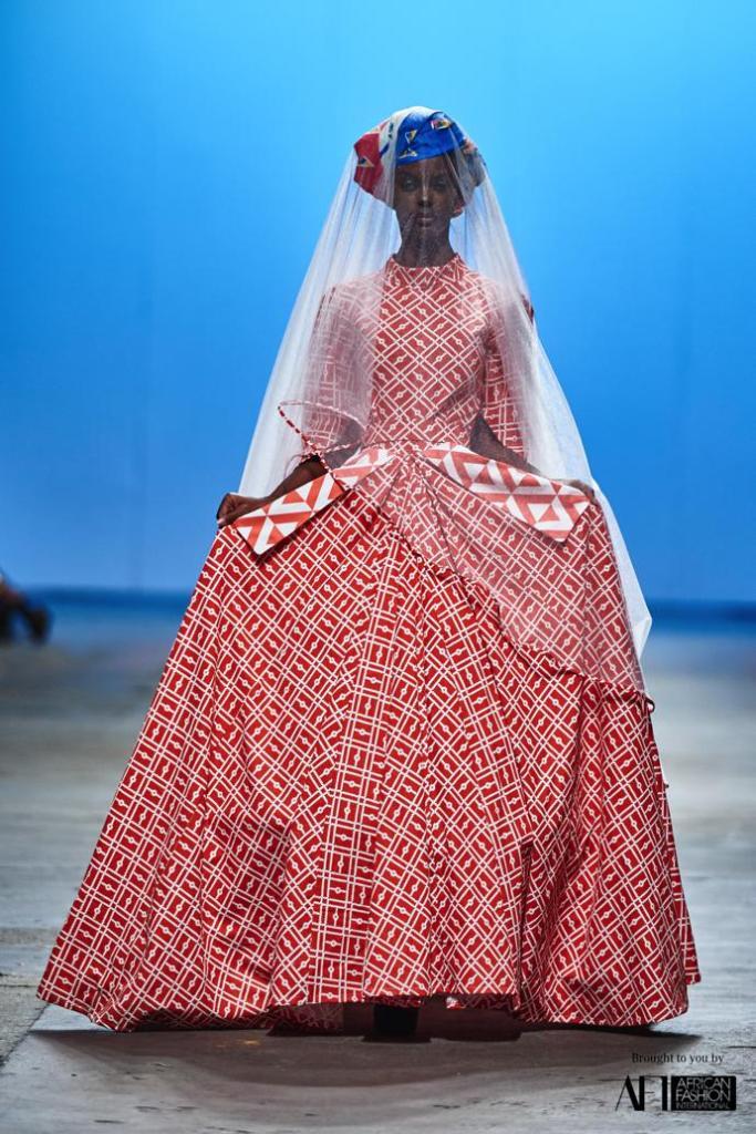 Mzukisi Mbane African Bridal Dress