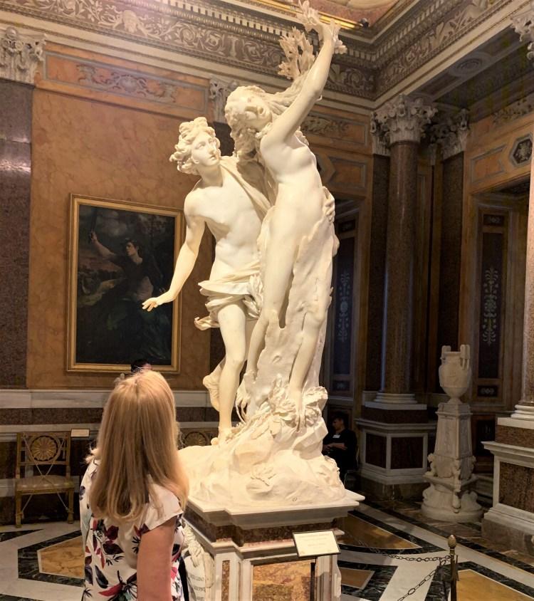 Galleria Borghese - Bernini - Apollo and Daphne