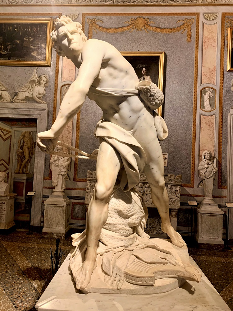 Galleria Borghese - Bernini David
