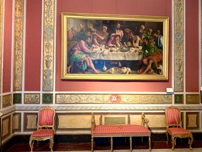 J Bassano. The Last Supper, 1546 - 1547