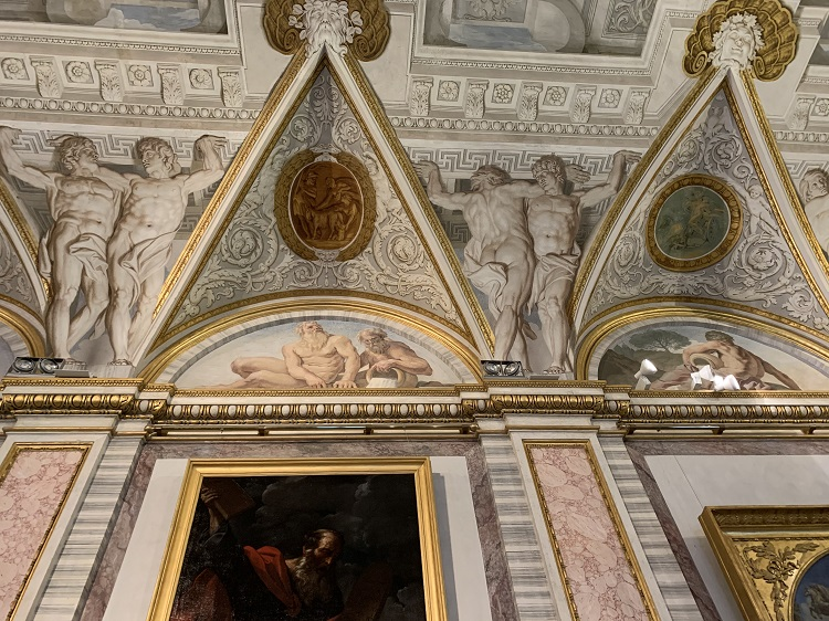 Galleria Borghese - Trompe l'oeil- The Council of the Gods by Giovanni Lanfranco, 1624. Image: Anne Roselt
