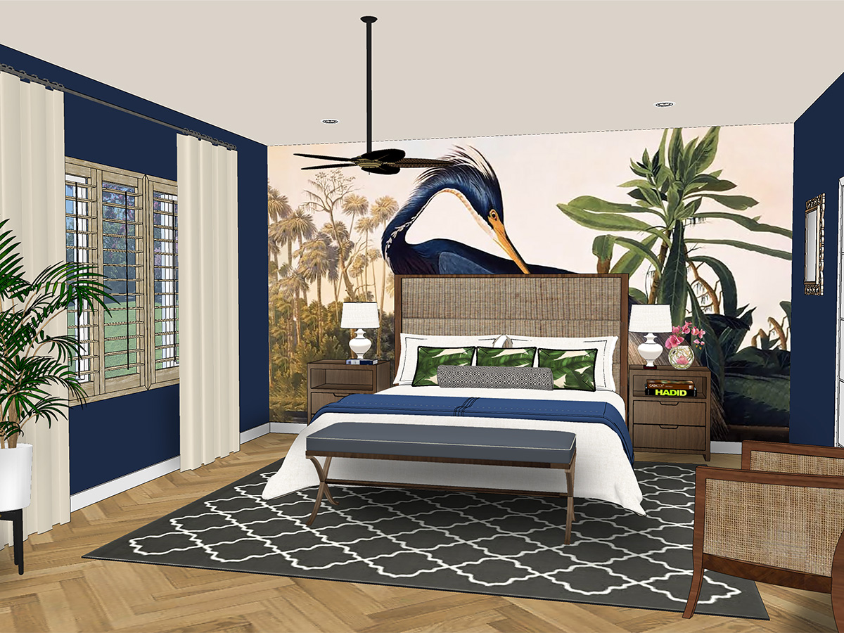 Interior Design Online Bedroom Makeover
