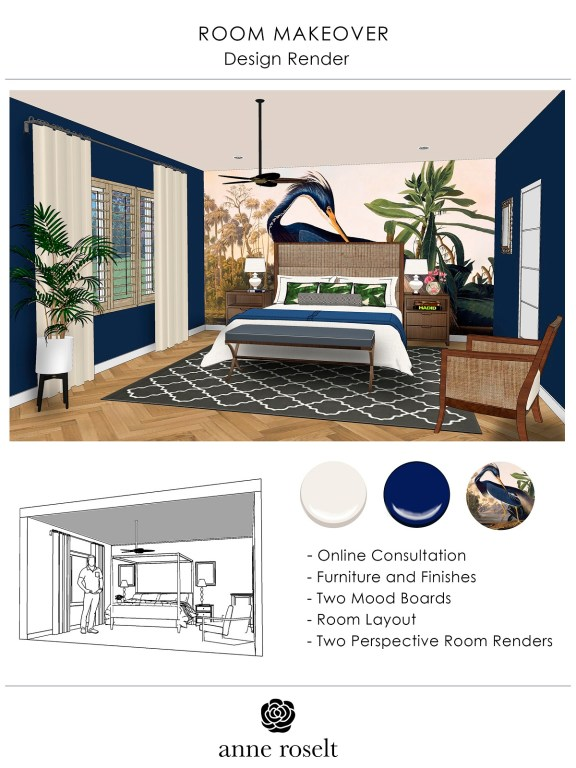Design Services Bedroom Makeover