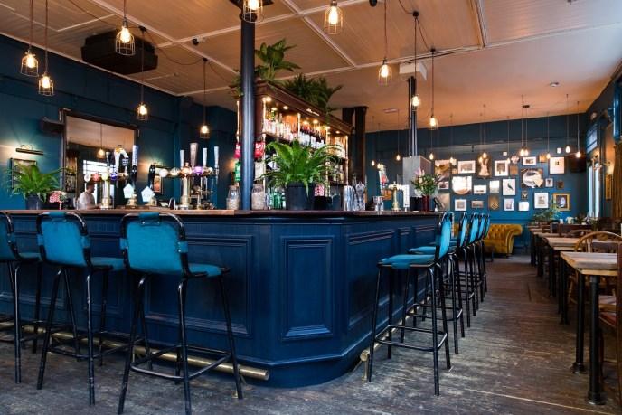 London's Vegan Pub The Spread Eagle - Vegan Interior Design