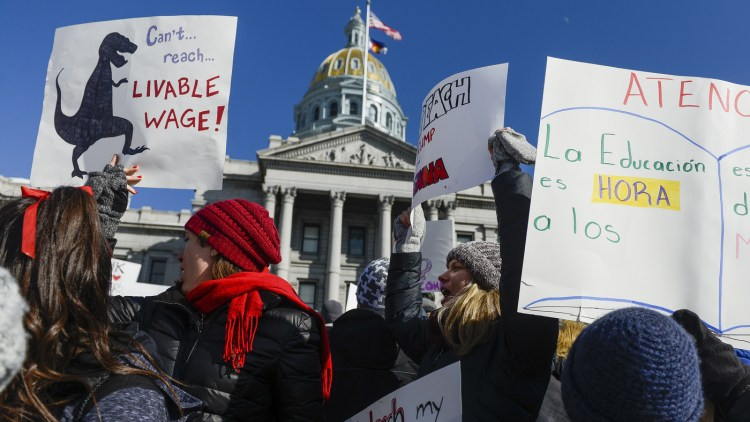 Denver Denver  Teachers  Reach  Tentative  Deal  To  End  Walkout