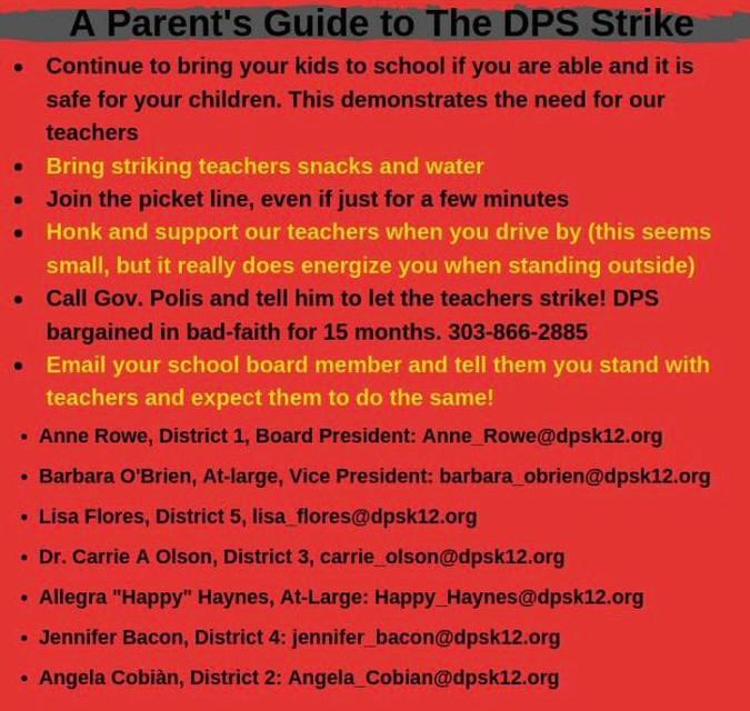 """Pushed  by  the  LA  teachers' """"blue  state""""  triumph,  Denver's  instructors  declare  strike"""