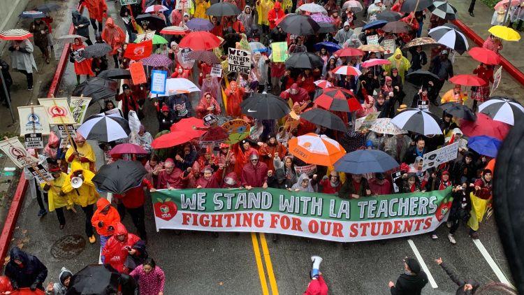 L.A.  teachers'  strike  is  over:  Teachers  to  return  Wednesday