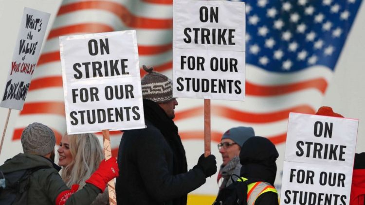 Denver Progress  reported  by  both  sides  in  Denver  teachers  strike