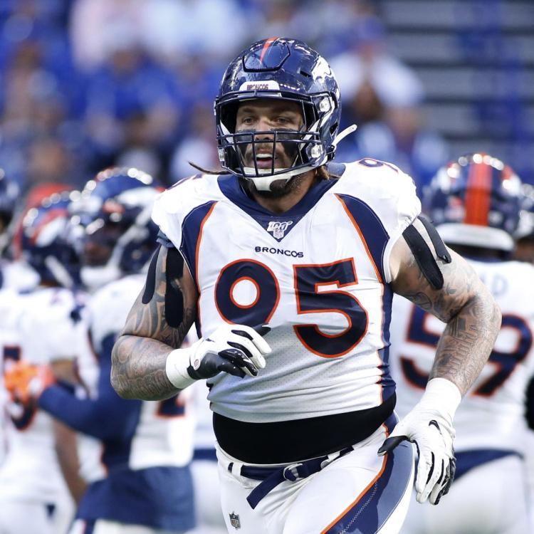 Denver Report: Ex-Broncos DE Derek Wolfe, Ravens Agree to 1-Year, $6M Contract