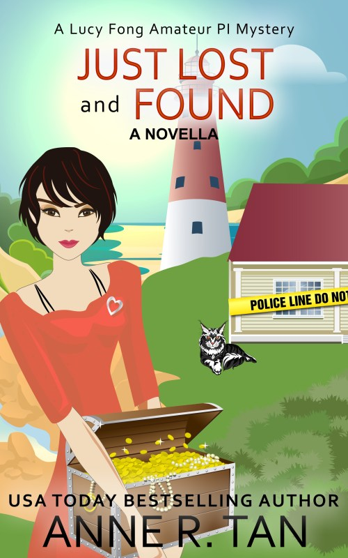Just Lost and Found  (Lucy Fong Amateur PI Mystery #1.5)