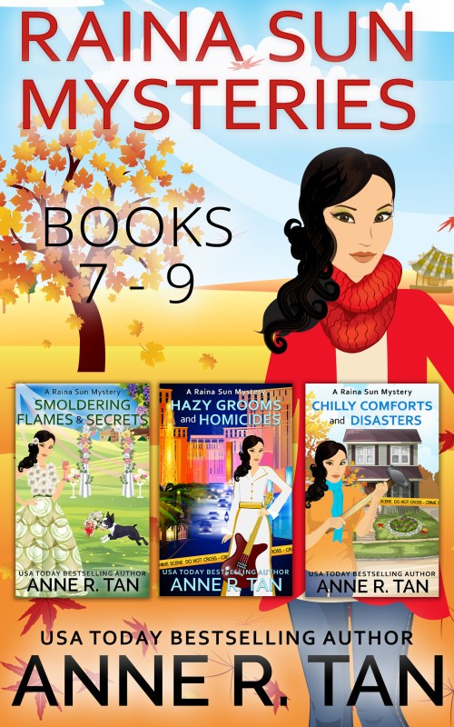 Raina Sun Mystery Boxed Set Vol 3 (Books 7 – 9)
