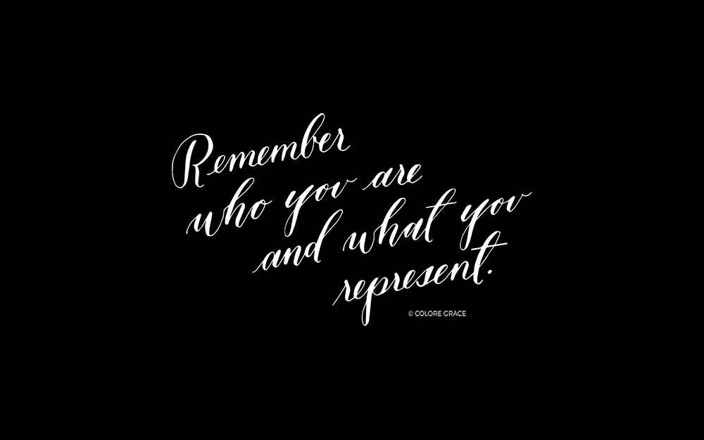 Make Your Own Quote Wallpaper Free Calligraphy Print Wall Art