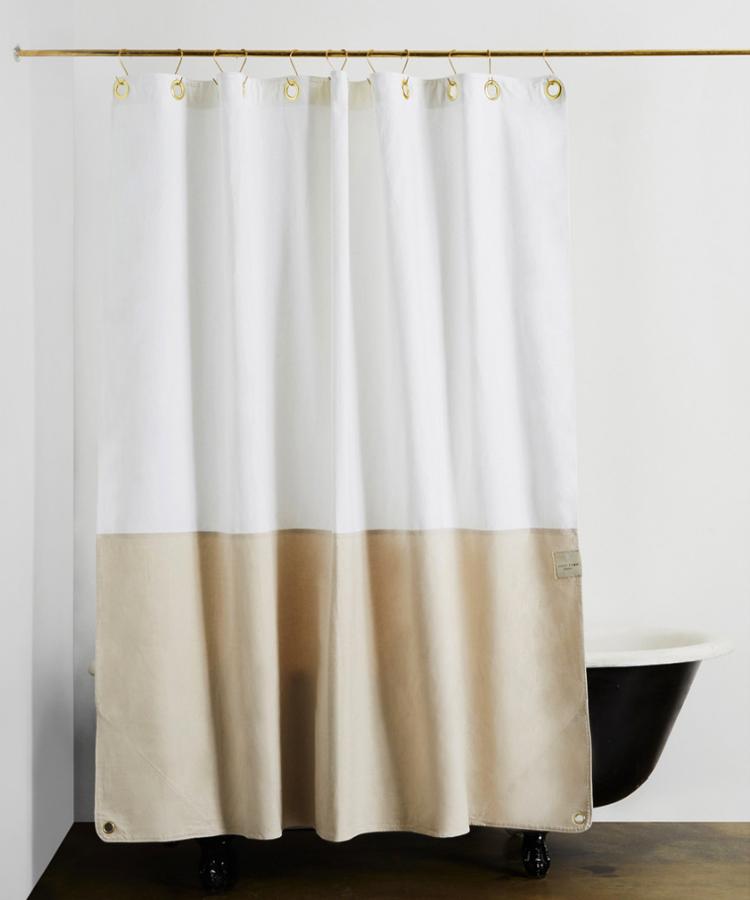 Modern Shower Curtains  Bath Mats from Quiet Town  Anne Sage