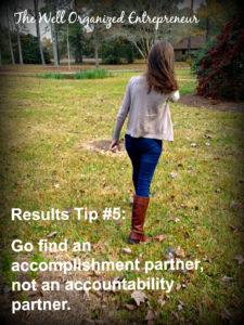 Accomplishment Partner