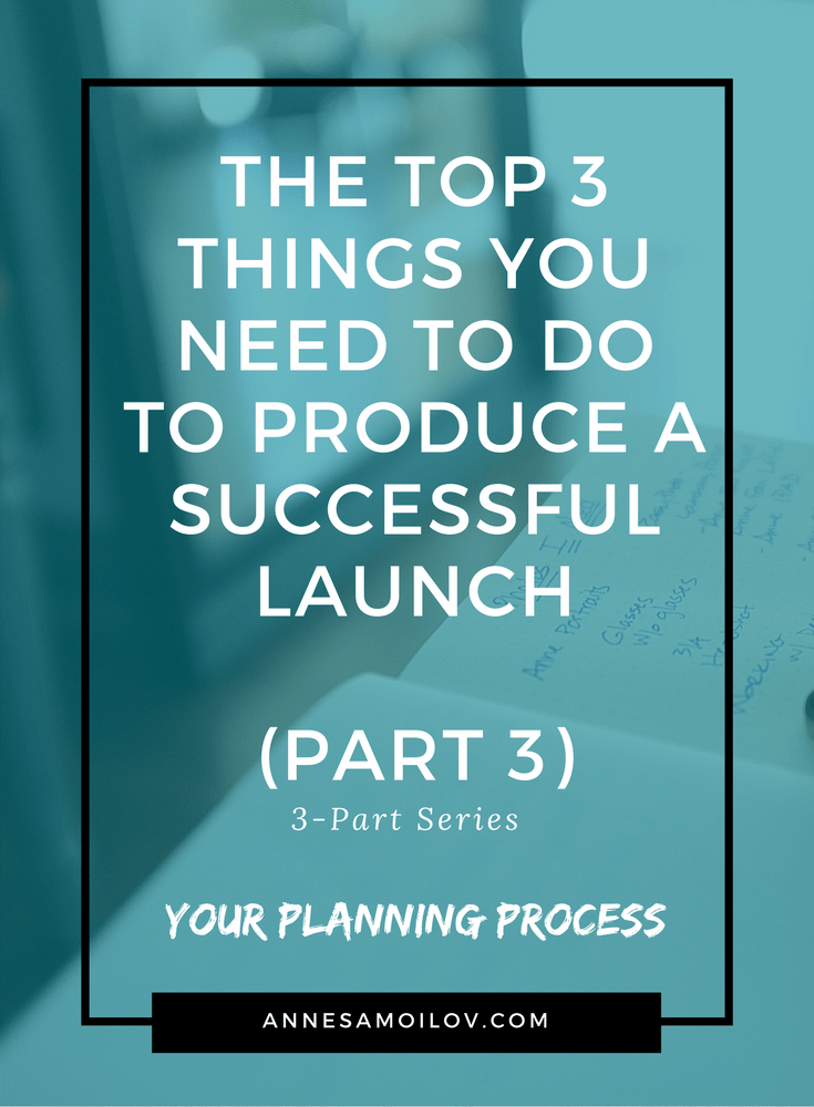 launch planning process