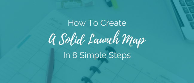 We're talking about create a launch map INSTEAD of simply planning your launch.