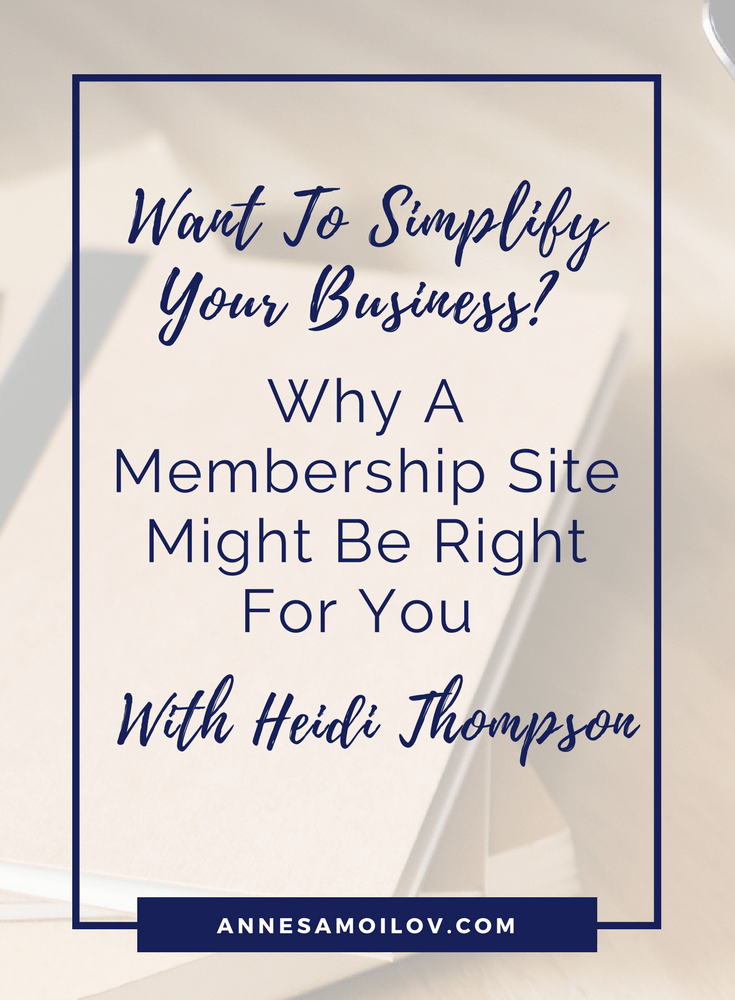 simplify your business with heidi thompson