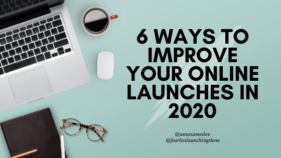 improve your online launch strategy