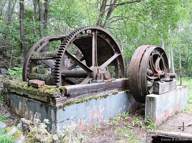 Maskineri vid Storberget
