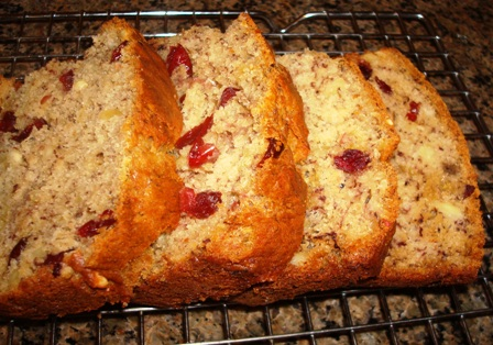 Almond Berry Banana Bread