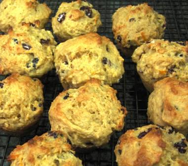 Cranberry Orange Muffins (Milk & Egg Free!)