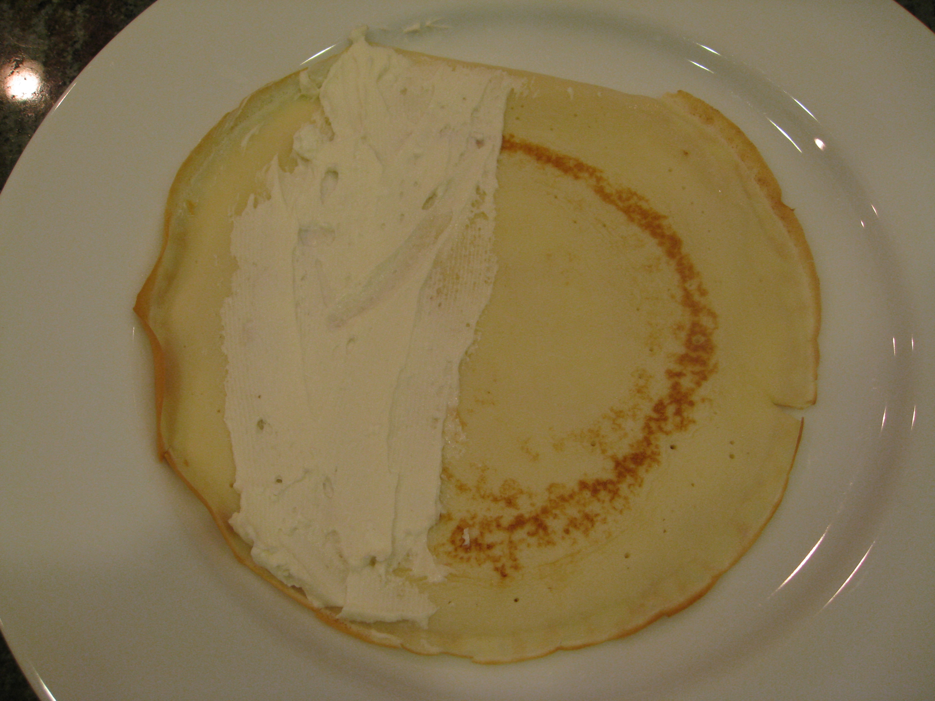 Cheese on Crepe