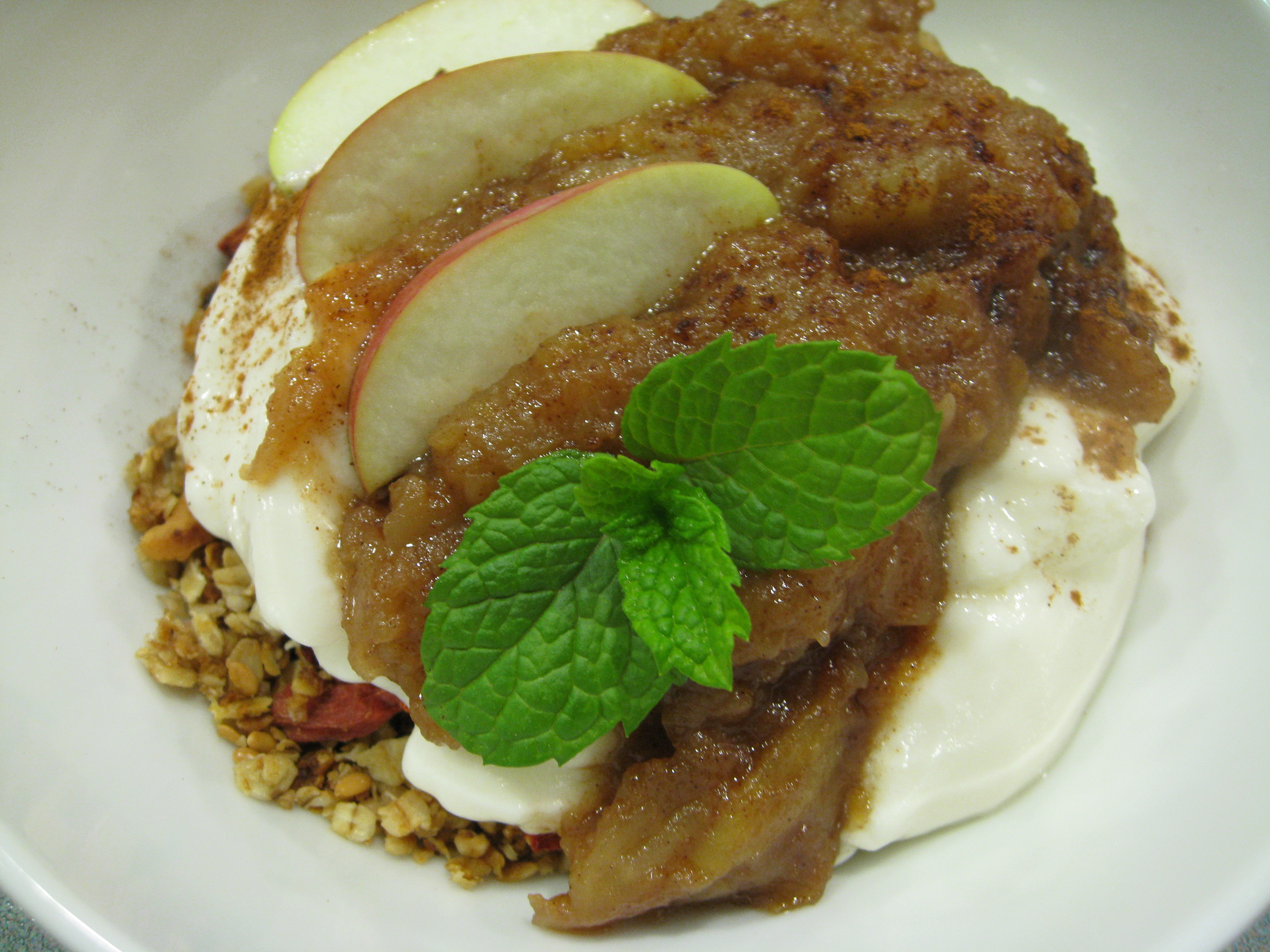 Chunky Apple Topping Recipe