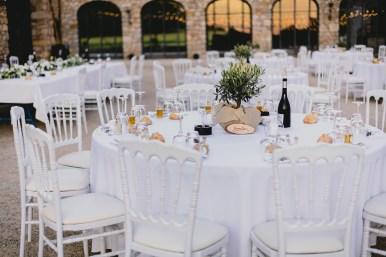 Décoration table mariage Domaine de la Rotonde - VAR 83