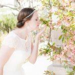 Jaimey Bates bridal photography at Red Butte Garden, Utah.