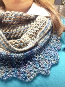 Chelsea's cowl, fundraiser for the Chelsea's Light foundation