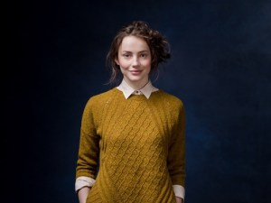 Chainlink sweater, by Norah Gaughan, Brooklyn Tweed Winter 2015