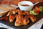 barbecue chicken photo