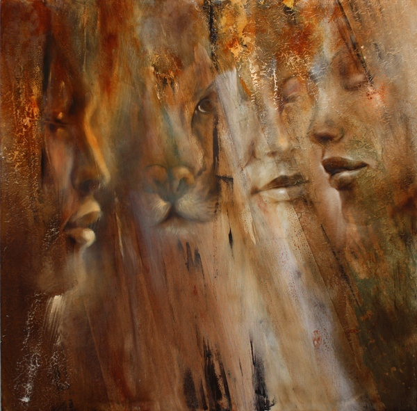 painting of faces