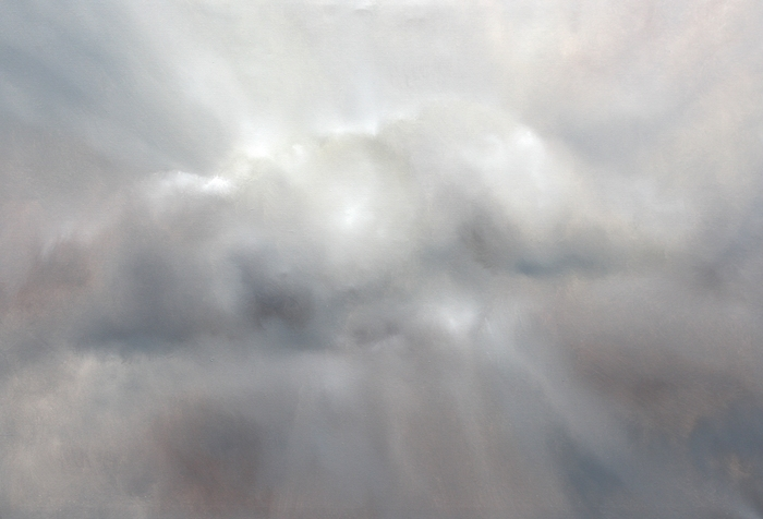 painting of a cloud