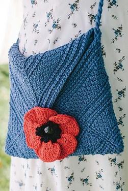 """Perennial Purse"" from Interweave Crochet, Spring 2017. (Photo credit: Interweave Crochet/GoodFolk Photography.)"