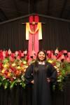 The proud graduate.