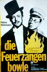 movie poster die Feuerzangenbowle