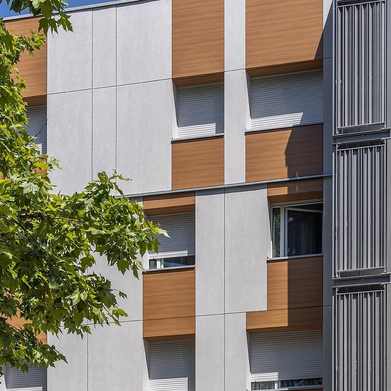 façade batiment collectif photo reportage