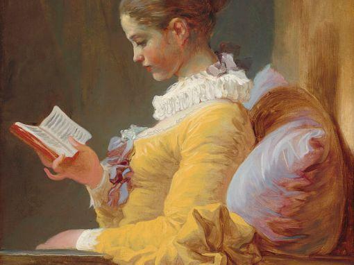 Jean-Honoré Fragonard - La liseuse (1770) Painting