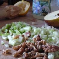 celery walnut apple salad