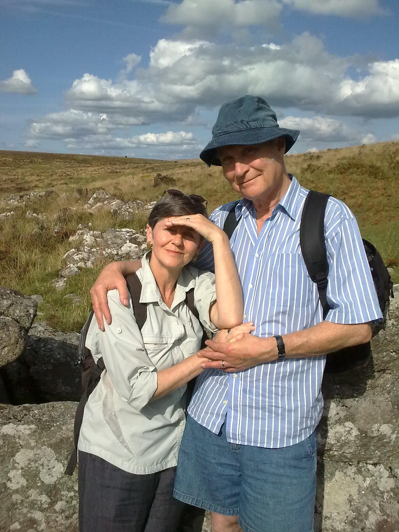 Ian and me, Dartmoor, August 2009
