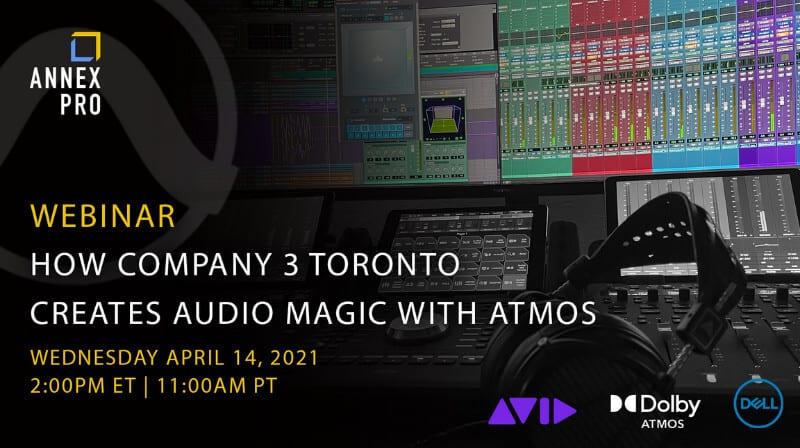 Annex Pro Dolby Atmos Webinar