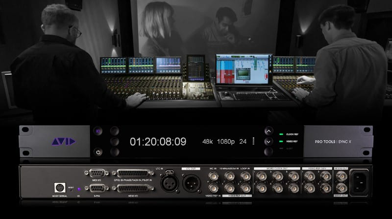What is Avid Pro Tools Sync X