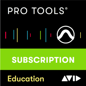 AVID Pro Tools 1-Year Subscription Academic