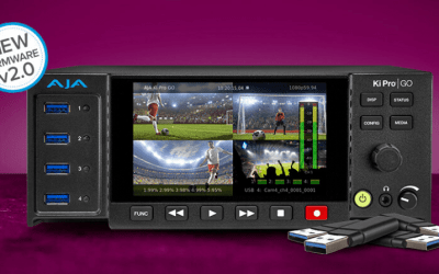 AJA Upgrades Ki Pro GO H.264 Recorder and Player